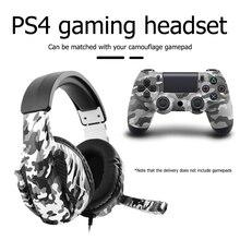 เกมหูฟังลดเสียงรบกวน Gamer ชุดหูฟังสำหรับคอมพิวเตอร์ PS4 PS5 Gaming หูฟังสเตอริโอคอมพิวเตอร์ชุดหูฟังพร้อมไมโครโฟน