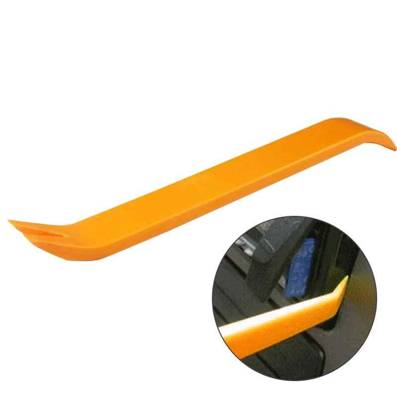 Profesional 4 Uds naranja ABS automóvil Audio puerta Clip Panel de ajuste Dash Auto Radio removedor herramientas juego de herramientas de extracción de Panel de coche