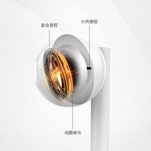 Image 3 - オリジナル Huawei 社 1080p スマート z イヤホン AM115 ハーフインイヤーヘッドセットとマイク/ボリュームコントロール/P10 のためキャンセル p20 lite
