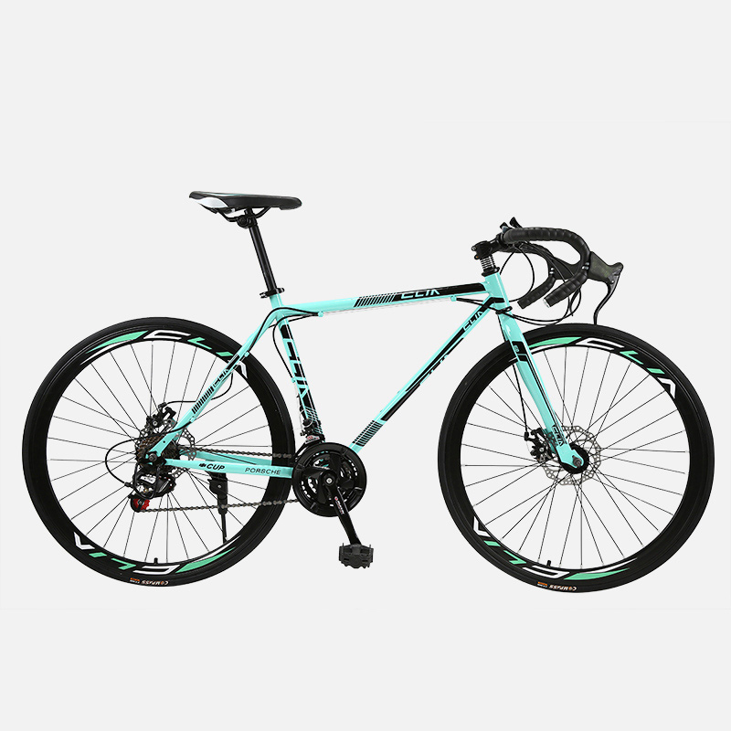 Road Bike Fixed Gear Bicycle 26 Inch 40 Knife 21 Speed Shift Bend Bicycle Male And Female Students Adult