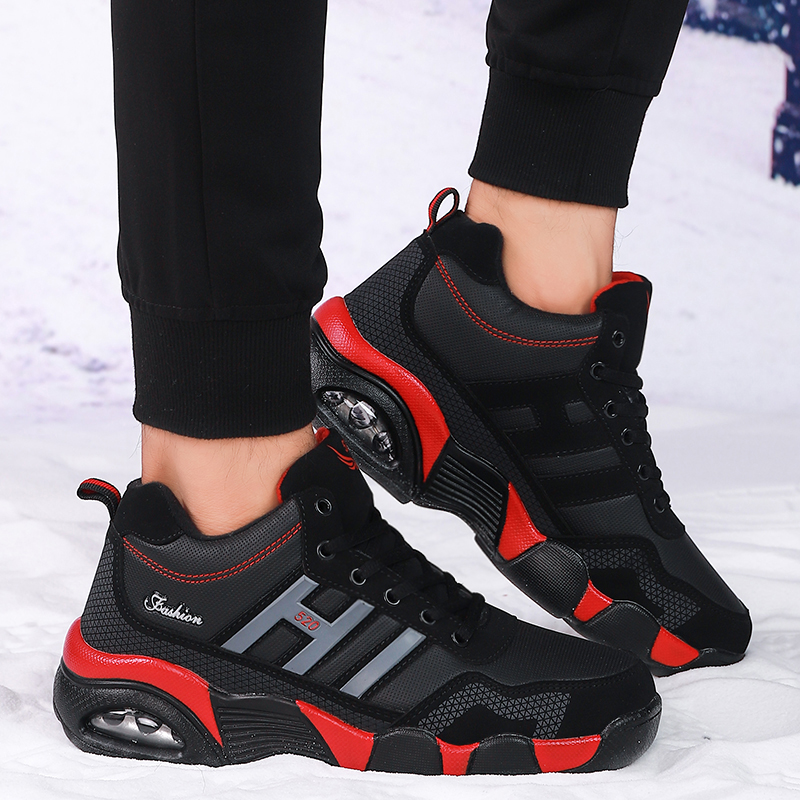 Men Snow Boots Winter Shoes Quality Men New Casual Shoes Lovers'shoes Botas Men 39 S Shoes Trend Shoes Keep Warm