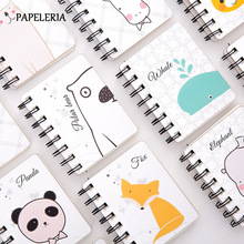 80 Sheet Spiral Book Coil Notebook Kawaii Blank Paper Journal Diary Planner Book For Office School Supplies Stationery Gift все цены