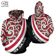 Новая мода Зеландия племя маори флаг страны aotearoa ретро Татуировка