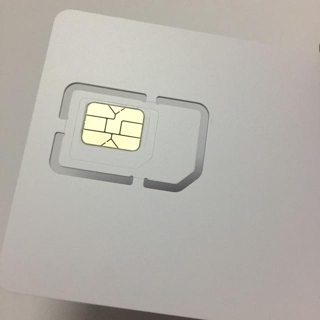 OYEITIMES carte SIM vierge 4G LTE Programmable carte SIM téléphone portable carte SIM ICCID IMSI broche PUK ADM KI Milenage COMP128 Algorith