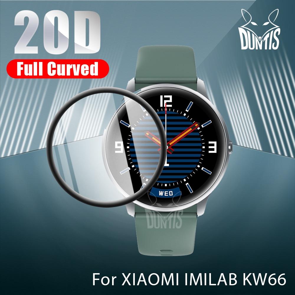 Защитная пленка 20D с закругленными краями для умных часов Xiaomi Xiao Mi IMILAB KW66, мягкая защитная пленка для экрана, аксессуары (не стекло)