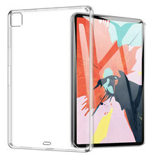 TPU Clear Case For iPad Pro 11 12.9 Inch 2020 Crack-Resistance Cover Ultra Thin Air-Guard Corner