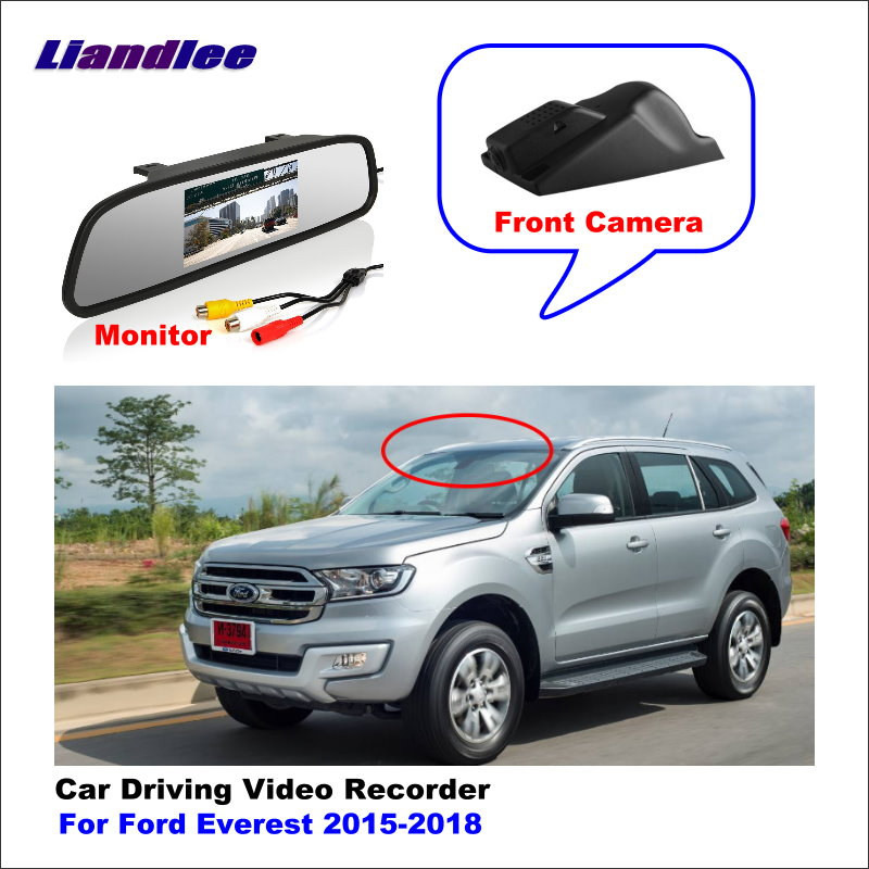 Liandlee For <font><b>Ford</b></font> Everest 2015-2018 <font><b>Car</b></font> <font><b>DVR</b></font> Driving Video Recorder <font><b>Hidden</b></font> Mini <font><b>Wifi</b></font> Camera Dash Cam 96655 1080P image