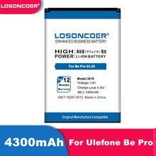 Bateria 3019 mah do telefone celular de losoncoer 4300 para ulefone ser pro/ulefone ser pro 2/ulefone l55 bateria