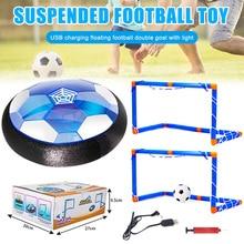 Soccer-Ball Toys Girls with Led-Light-Up Double-Goals-Gift for Boys LBV Floating Hover