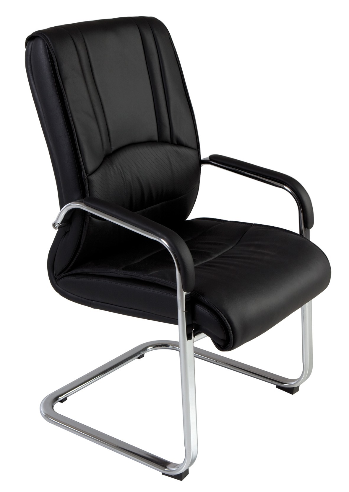 CHAIR CONFID IMITATION SKIN ECO RD-987 BLACK