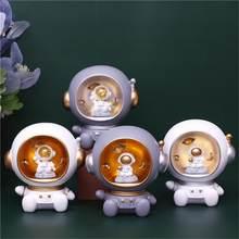 2020銀河ガーディアンledナイトライト宇宙飛行士貯金箱ランプ宇宙飛行士装飾ライトのための子供のおもちゃ誕生日ギフト