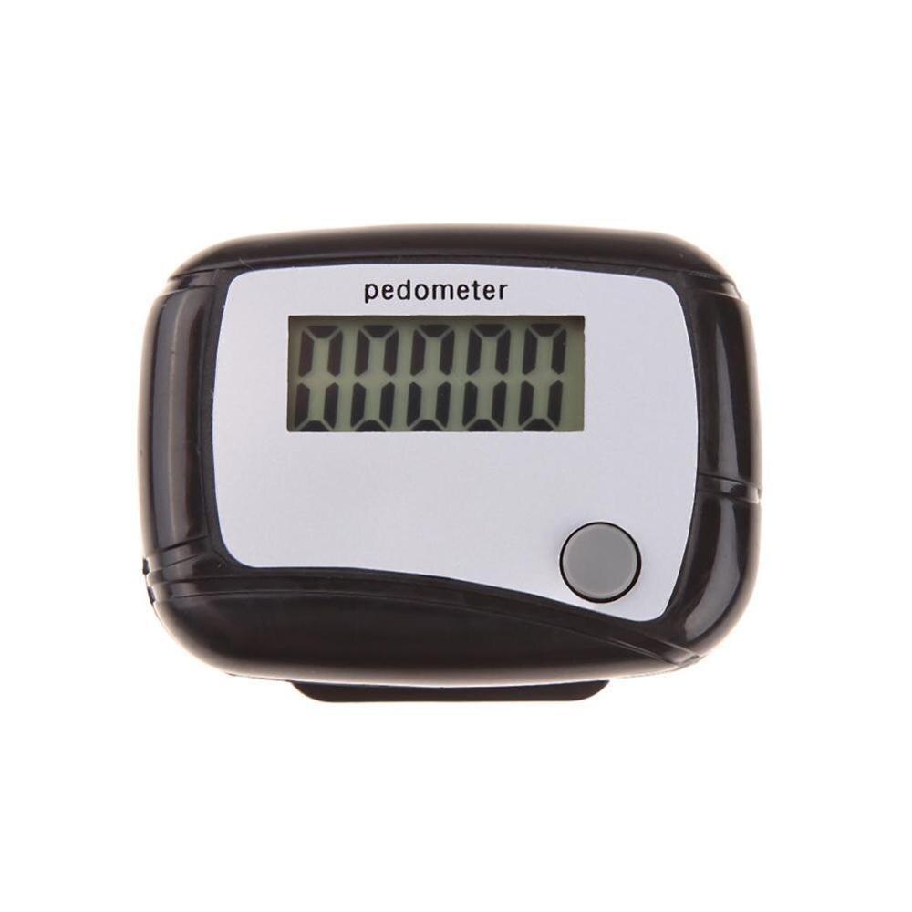 Шагомер с ЖК-дисплеем, шагомер, счетчик калорий, километр, дизайн ходьбы, цифровой зажим, карманное расстояние мини