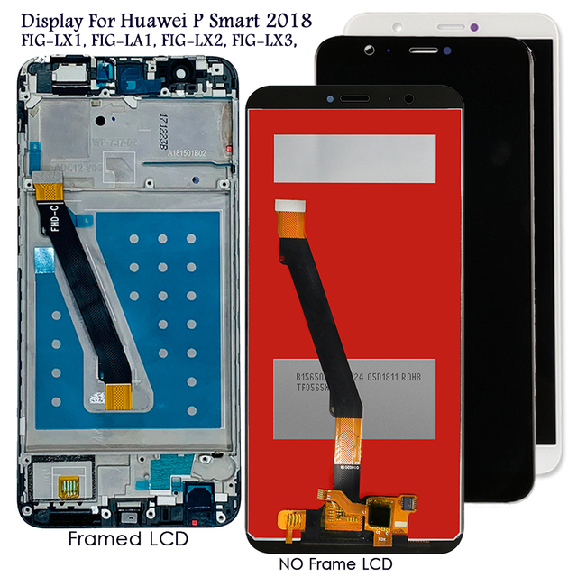 شاشة Lcd لهواوي P الذكية 2018 شاشة Lcd تعمل باللمس لاستبدال نوفا لايت 2 FIG LA1 شاشة Lcd تعمل باللمس اختبار