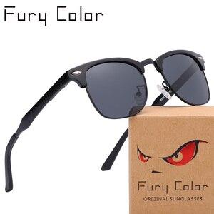 Image 1 - نظارات شمسية مستقطبة عالية الدقة من الألمونيوم والمغنسيوم للرجال والنساء 3016 ذات تصميم علامة تجارية فاخرة مع طلاء قافاس دي سول للرجال