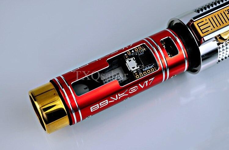 Sable de luz Anakin EP3 con Soundboard Proffie2.2, cambio suave de 16 colores con tarjeta LED hoja de tira SD - 6