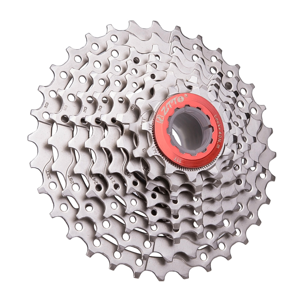 Cycling Bicycle Cassette Freewheel Sprocket Replacement Mountain Bike MTB Bicycle Parts   Silver  11 32T / 11 25T 8/ 9 Speed|Bicycle Freewheel| |  - title=