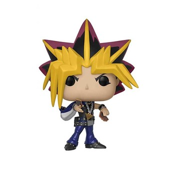 FUNKO POP Anime DM ATEM Yami Yugi 387# Vinyl Action Figure Toys Duel Monsters Decoration Model Dolls for Kids Birthday Gifts 2