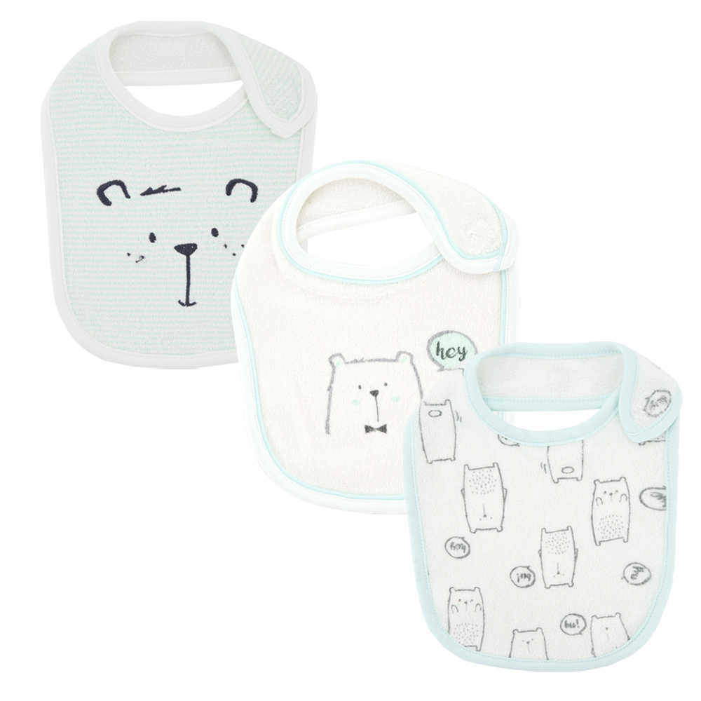 100% Cotton Baby Bibs Waterproof Baby Girls boys Bibs & Burp Cloths Baby Clothing Product Rabbit Design Baby Clothing Product