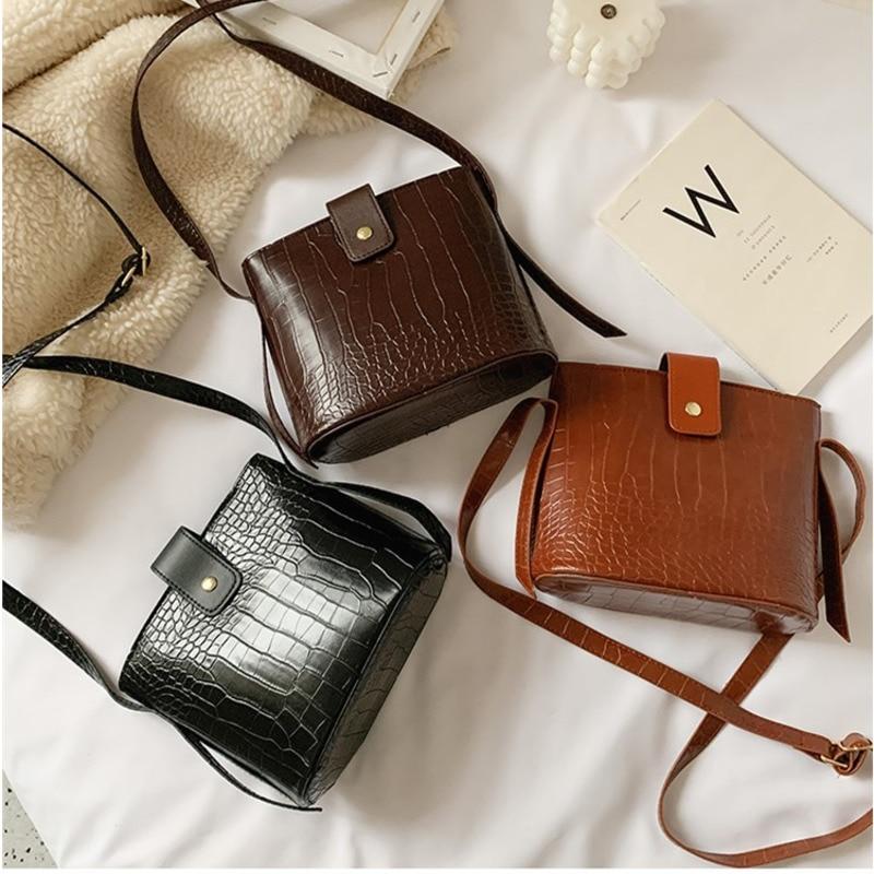 Female Bag 2021 Spring New Women's One Shoulder Bag Korean Fashion Messenger Bag Women Bucket Shoulder Bags