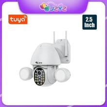 Inteligentne oświetlenie kamera Tuya reflektor humanoidalny wyzwalacz PTZ Wifi IP AI automatyczne śledzenie Audio 3MP bezpieczeństwo CCTV Vedio nadzór