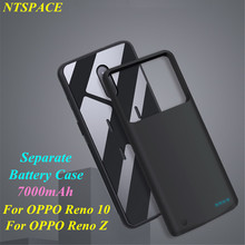 Battery Charger Case For OPPO Reno Z Power Case 7000mAh Power Bank Charging Cover For OPPO Reno 10 External Battery Power Case