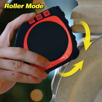 Professional 3 in 1 Measuring Tape With Roll Cord Mode High Accuracy Laser Digital Tape High Impact Multi-fuction Measuring Tool 3 in 1 digital multi function measure tape infrared laser distance meter measuring tool range finder roll cord mode gauge tool