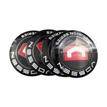 For VOSSEN Car Wheel Center Hub Caps Stickers Emblem Badge for KIA forte soul ceed Cerato Borrego Carens Fiat PalioTipo 500