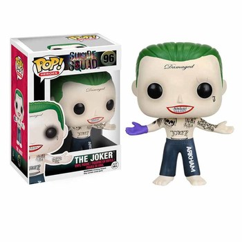 funko POP The Joker Harleen Quinzel Action Figure Toys Dolls 10cm PVC Anime Figure Decoration Model for Kids Christmas Gifts 4