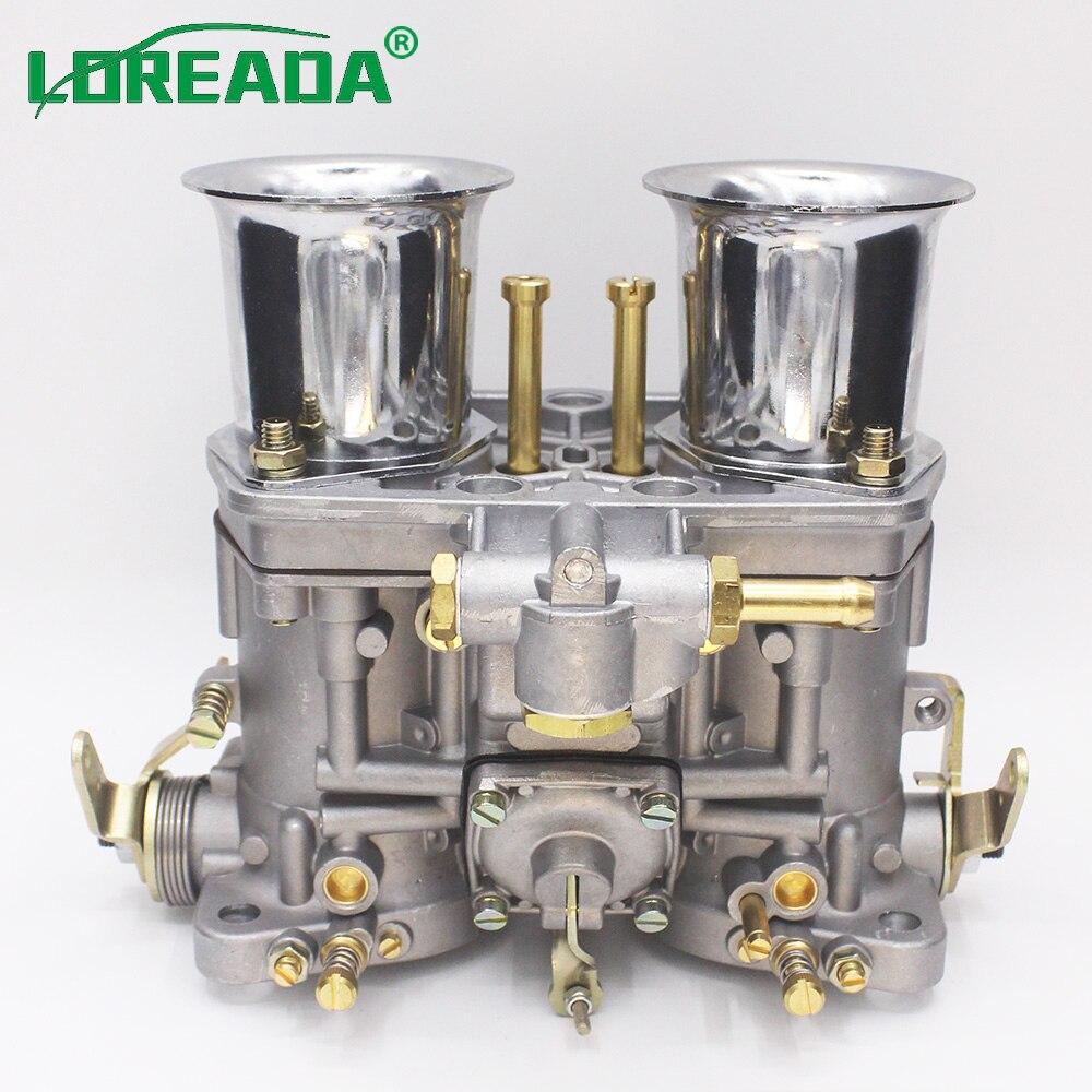 2 pces x brandnew oem 48 idf carburador com chifre de ar se encaixa para o besouro de bug vw porsche solex substituir weber carb 48idf