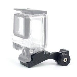 Image 4 - BGNing accesorios para motocicleta soporte de montaje del espejo retrovisor, abrazadera de barra, soporte de cámara para GoPro Max Xiaoyi Cámara de Acción SJCAM