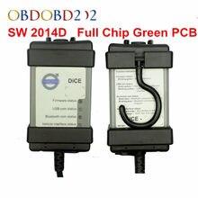 2020 completa chip vida dados ferramenta de diagnóstico sw 2014d dice pro obd2 scanner para carros firmware atualização auto teste
