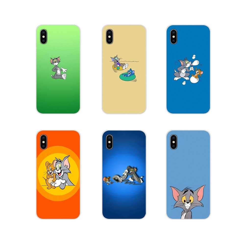 Accessories Phone Cases Covers Cartoon Tom Jerry For Huawei Honor 4C 5C 6X 7 7A 7C 8 9 10 8C 8S 8X 9X 10I 20 Lite Pro