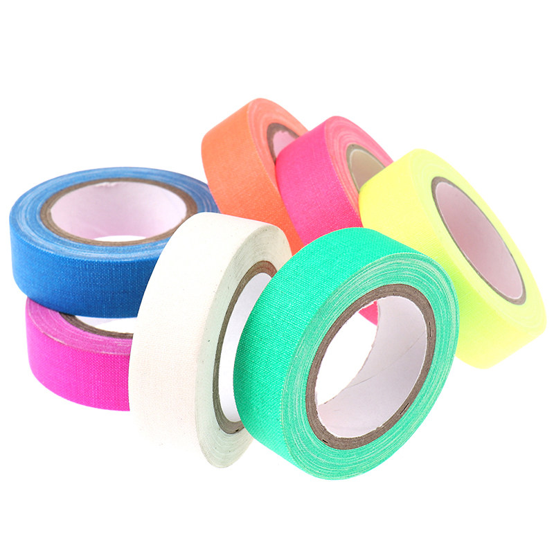 Diy Fluorescent Uv Cotton Tape Matt Night Self Adhesive Glow In The Dark Luminous Tape For Party Floors Super Offer A20ee Cicig