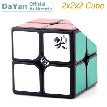 DaYan 2x2x2 Magic Cube 2x2 46mm/50mm Brain Teasers Professional Speed Twist Puzzle Antistress Educational Toys For Children yongjun mirror 2x2x2 magic cube yj 2x2 professional speed puzzle antistress educational toys for children