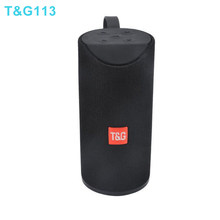 Hopestar tg113 10w coluna portátil ao ar livre sem fio bluetooth alto-falante usb tf fm rádio música estéreo subwoofer para pc mp