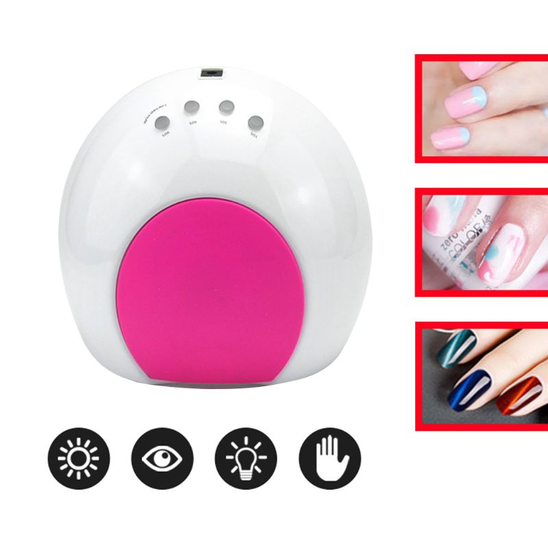 SUN2C SUN2C 48W Nail Lamp UV Lamp SUN2 Nail Dryer For UVLED Gel Nail Dryer Infrared Sensor Timer Settings Manicure Machine LED