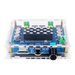 Image 3 - XH A105 Bluetooth 5.0 TDA7498 אלחוטי דיגיטלי מגבר כוח סטריאו אודיו לוח 2x100W מגבר amplificador תמיכת TF כרטיס AUX