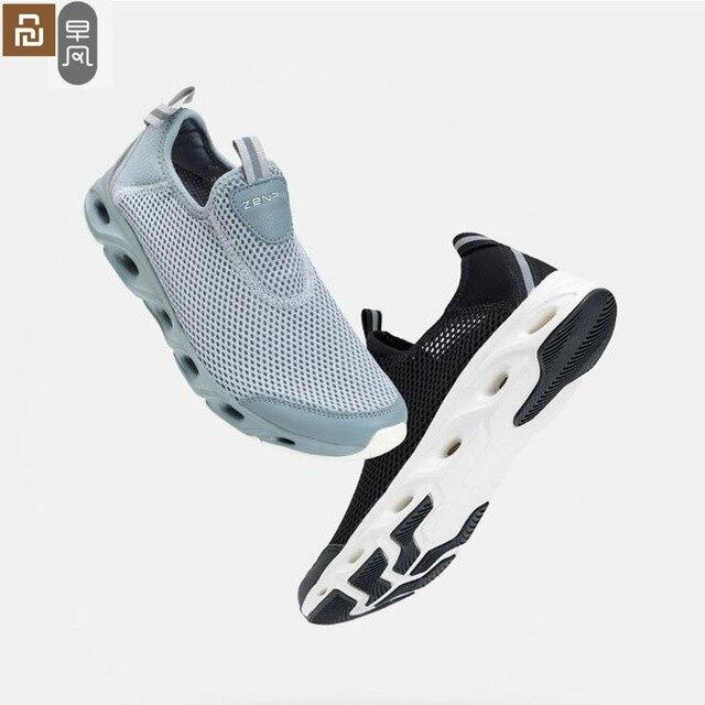 Youpin zaofeng נעלי ספורט קל משקל לאוורר אלסטי סריגה לנשימה מרענן קריק החלקה ספורט לגבר אישה
