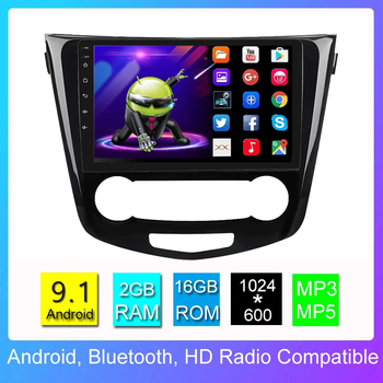 JOYINCAR Car Multimedia Player Android 9.1 for Nissan X-Trail Qashqai j11 j10 Radio 2013 2014 2015 2016 2017 GPS Navigation image