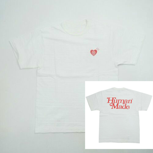 New Streetwear Girls Dont Cry Human Made T-Shirt White Unisex Size S-3Xl