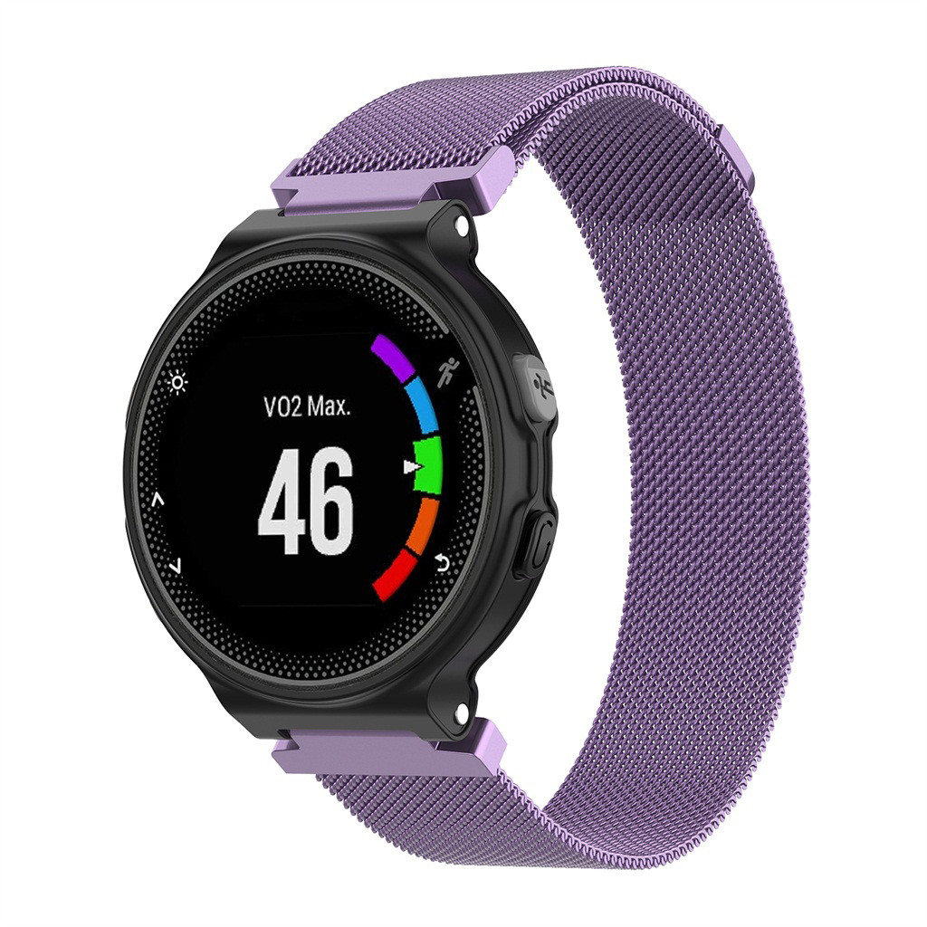 Milanese loop <font><b>strap</b></font> For <font><b>Garmin</b></font> <font><b>Forerunner</b></font> 220 230 <font><b>235</b></font> 620 735 Approach S20 S5 S6 Small Milanese <font><b>Magnetic</b></font> Watch Band <font><b>Strap</b></font> image