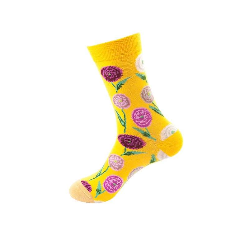 Phụ Nữ Ngộ Nghĩnh Nam Sock Thú Bông Cá Mập Cá Tính Vui Nghệ Thuật Van Gogh Nổi Tiếng Thế Giới Tranh Vớ Nữ Dầu Tất Quà Tặng Giáng Sinh