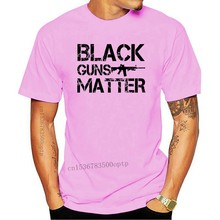 Black Guns Matter T-Shirt, White S-3Xl Lives 2Nd Amendment Gun Rights Ar-15 5.56 New Mens T Shirt Summer Casual Design T Shirt