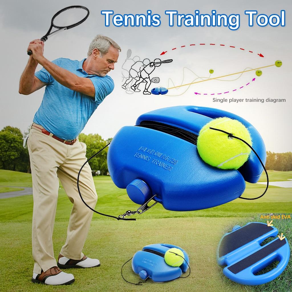 Tennis Training Tool Exercise Tennis Ball Sport Self-study Rebound Ball With Tennis Convenient Training Tennis Tool Sport