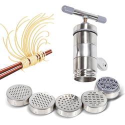 Ręczne urządzenie do gotowania makaronu ze stali nierdzewnej naciśnij makaron Cutter robot kuchenny w Ręczne maszynki do makaronu od Dom i ogród na