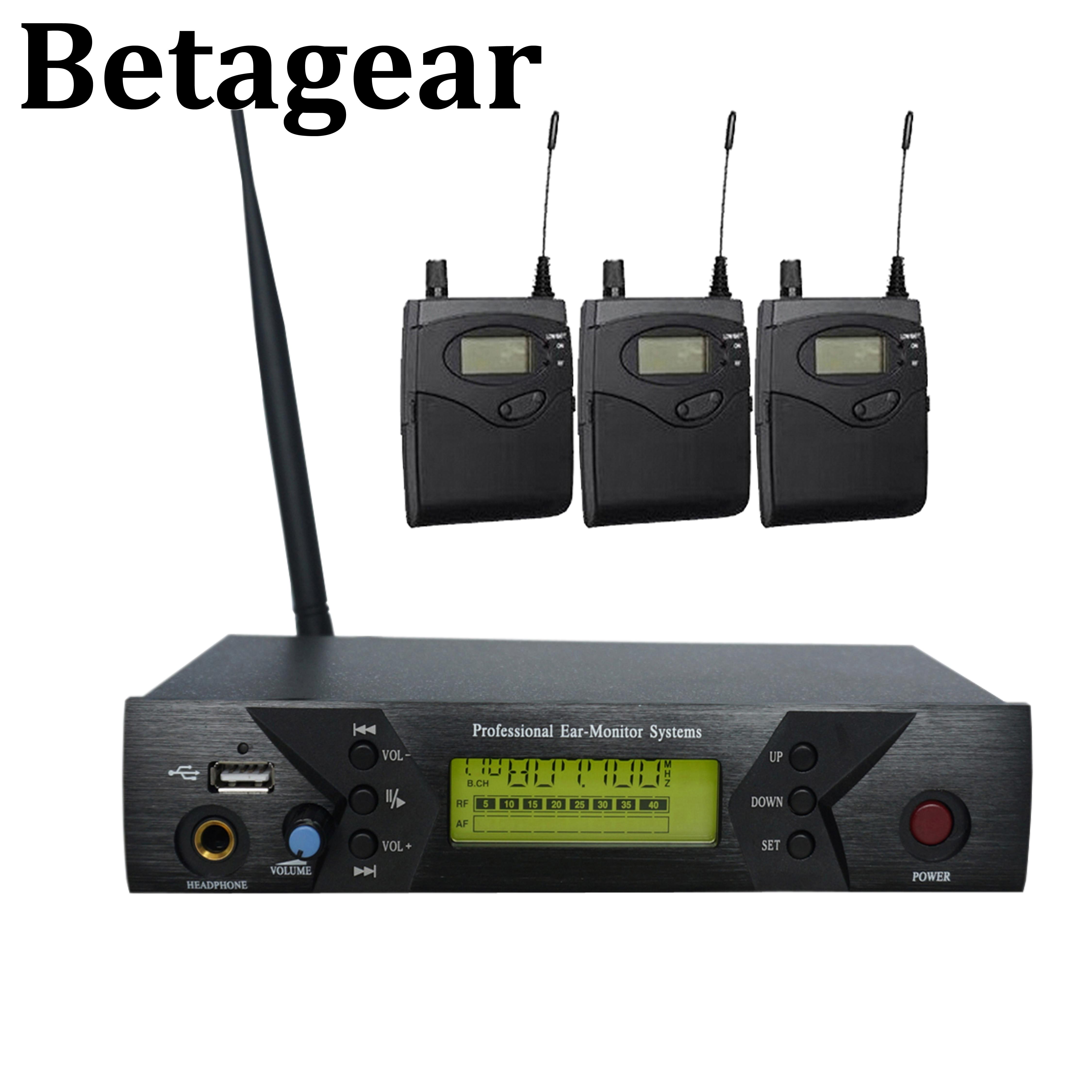 Betagear BK-510 drahtlose in-ear-monitor-system überwachung bühne ohr monitore persönliche in-ohr monitor wireless system für bühne
