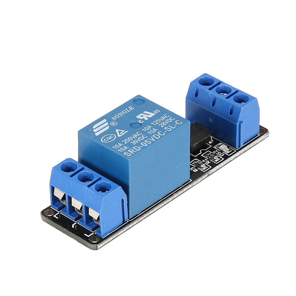 5V 1 Channel Relay Module Interface Board Low Level Trigger Optocoupler for Arduino SCM PLC Smart Home Remote Control Switch