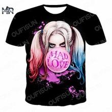 2021 nowych mężczyzna czaszka Element 3D T Shirt Street Style oddychająca cienka gładka tkanina T-shirt w za dużym rozmiarze Horror wzór O-Neck 110-6XL