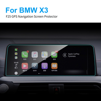 6.5 8.8 10.25 Inch Car GPS Navigation Screen Protector for BMW F25 G01 X3 9H Touch Screen Tempered Glass Film Car Accessories image