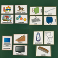 子供のおもちゃ/キッチン/家具/浴室学習英語ポケットカードベビーモンテッソーリ単語フラッシュカード教育玩具子供